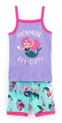 Hatley Kids Underwater Kingdom Tank Pajama Set