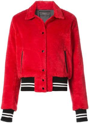 Amiri Sherpa bomber jacket