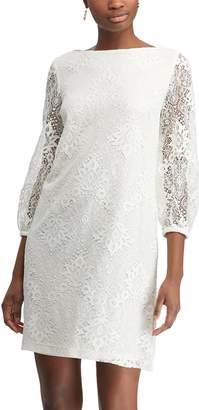 Chaps Women's Lace Sheath Dress