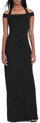Women's Lauren Ralph Lauren Off The Shoulder Column Gown $195 thestylecure.com