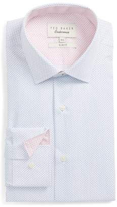 Ted Baker Endurance Barged Slim Fit Double Dot Dress Shirt