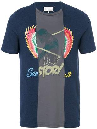 Maison Margiela colour-block T-shirt