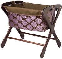 Bassinet Bag in Zinnia Roll