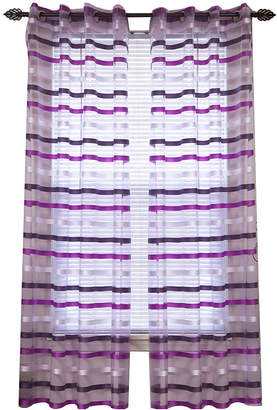 Asstd National Brand Sonya Grommet-Top Curtain Panel