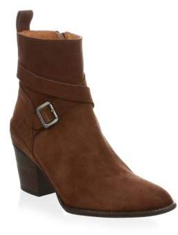 Hunter Refined Suede Ankle Boots