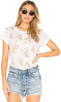 Wildfox Couture Patchwork Floral Top
