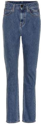 Calvin Klein Jeans Est. 1978 High-rise straight-leg pants