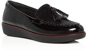 c099f807eca FitFlop Women s Petrina Faux Calf Hair Moccasin Loafers