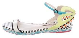 Sophia Webster Patent Leather Ankle Strap Sandals