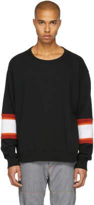 Facetasm Black XXL Rib Sweatshirt