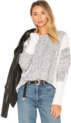 Autumn Cashmere Color Block Sweater $462 thestylecure.com