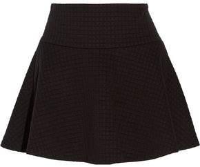 Alice + Olivia Textured-Knit Mini Skirt
