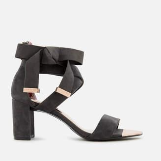 18b70e4c1 Ted Baker Women s Noxen 2 Suede Block Heeled Sandals