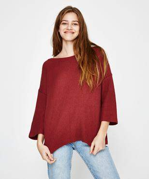 Amuse Society Camp Fire Sweater Mauve
