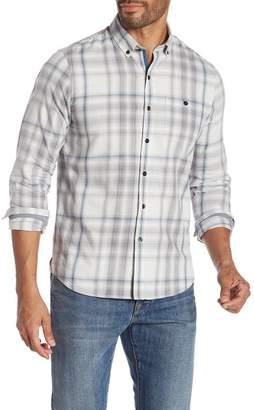 Michael Bastian Plaid Cotton Twill Shirt