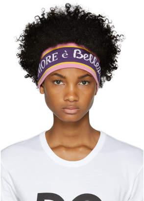 Dolce & Gabbana Purple LAmore Headband