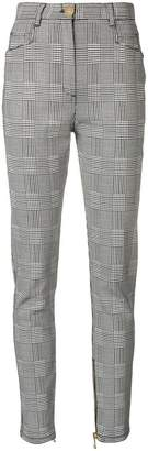 Balmain houndstooth trousers