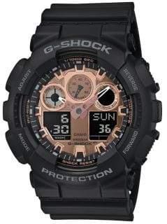 G-Shock Digital-Analog Resin-Strap Watch
