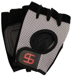 Shred and Tone WORKOUT GYM EXERCISE GLOVES WITH BREATHABLE MESH - Size: Large