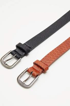 Next Womens PrettyLittleThing Belt - Pack Of 2