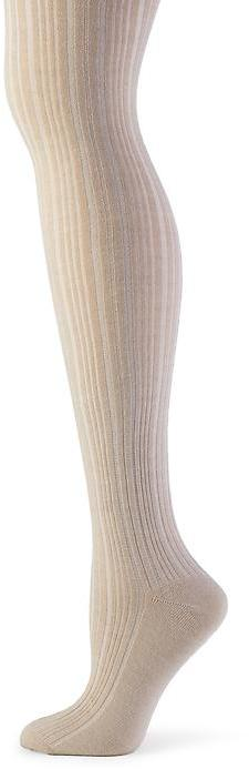 Banana Republic Textured stripe over-the-knee sock