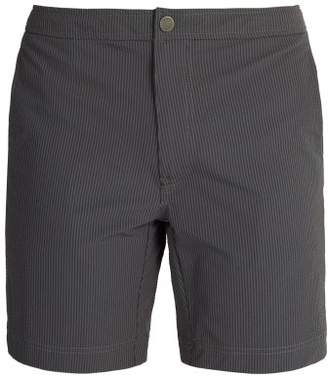 Onia Calder Swim Shorts - Mens - Dark Grey