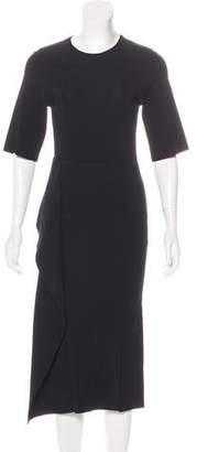 Stella McCartney Ruffle-Trimmed Midi Dress