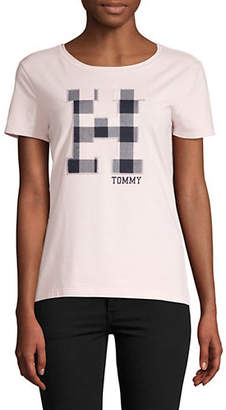 Tommy Hilfiger Short-Sleeve Applique Tee