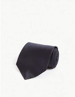 Alexander McQueen Skull motif silk tie