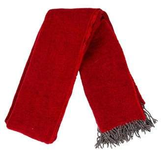 Moncler Wool Fringed Scarf
