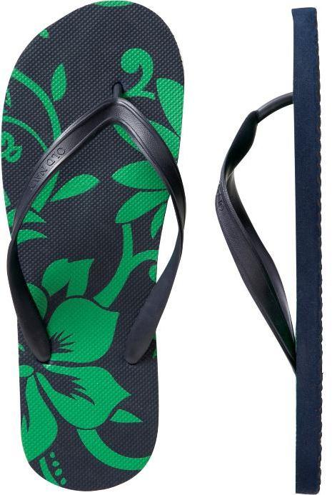 Men's Printed Flip-Flops