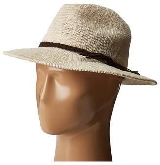 Scala Knit Safari with Braid Trim Safari Hats