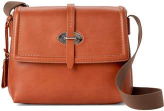 Dooney & Bourke Natural Leather Messenger Bag