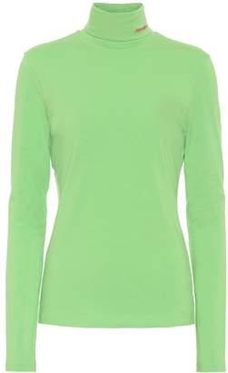 Calvin Klein Stretch-cotton turtleneck top