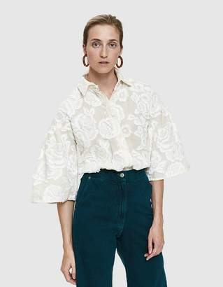 Farrow Pina Embroidered Blouse