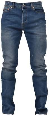 Valentino Blue Skinny Vltn Jeans