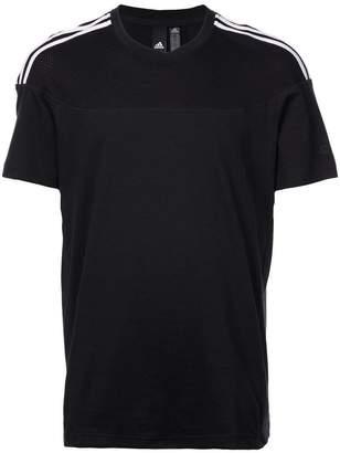 adidas 3-stripes short-sleeve T-shirt