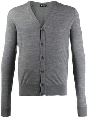 Hackett slim-fit knit cardigan