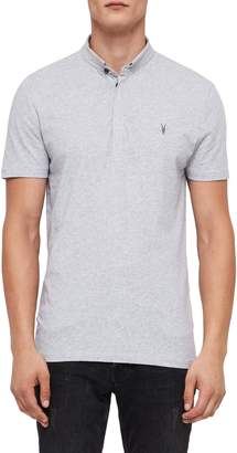 AllSaints Grail Slim Fit Polo