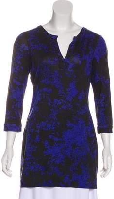 Diane von Furstenberg Raye Silk Mini Dress