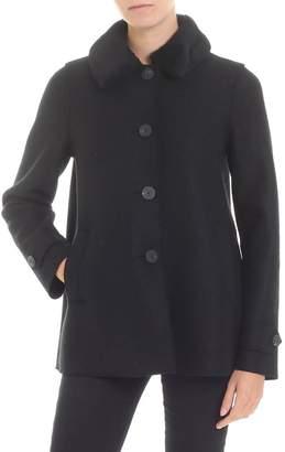 Harris Wharf London Fur Insert Coat