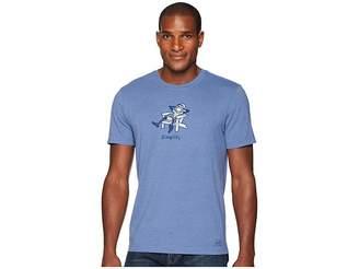 Life is Good Classic Adirondack Crusher Tee Men's T Shirt