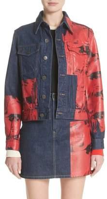 Calvin Klein x Andy Warhol Foundation Dennis Hopper Denim Jacket