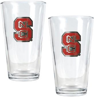 North Carolina State Wolfpack 2-pc. Pint Ale Glass Set
