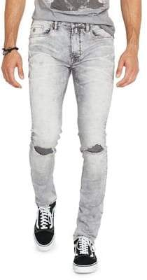 Buffalo David Bitton Distressed Skinny Jeans