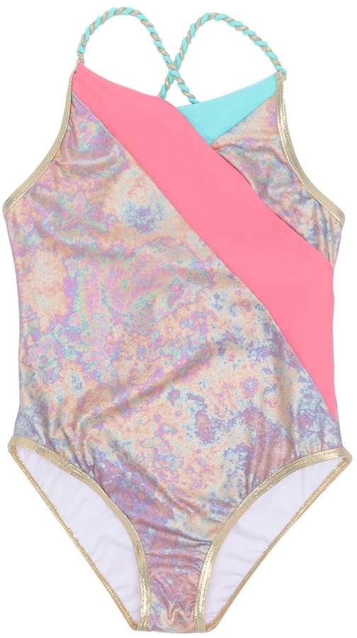 Little Marc Jacobs floral print swimsuit