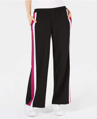 Bar III Striped Pull-On Pants, Created for Macy's