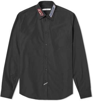 Givenchy Logo Collar Shirt