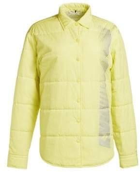 alexanderwang.t Washed Nylon Collared Jacket