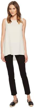 Eileen Fisher System Stretch Ponte Slim Pant Women's Casual Pants